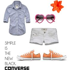 Need orange converse.