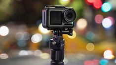 DJI Osmo Action camera with two displays is one of the fantastic little gadgets. It has great image quality, plenty of shooting modes. Dji Osmo, Gopro Hero, Circles, Gadgets, Action, Selfie, Money