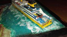 Model Ships, Diorama, Dioramas