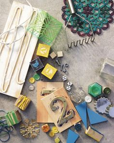 Block Printing with Everyday Objects Martha Stewart Living ~ Gonna Have LOTS of Fun! Stamp Printing, Printing On Fabric, Printing Plates, Arts And Crafts, Paper Crafts, Diy Crafts, Everyday Objects, Everyday Items, Tampons