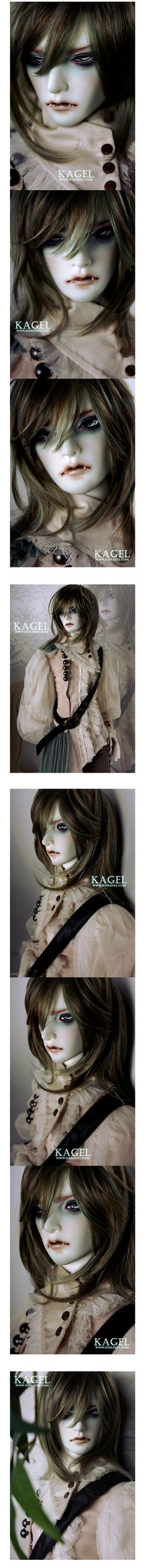 Vampire KAGEL 69cm, Soul Doll - BJD Dolls, Accessories - Alice's Collections