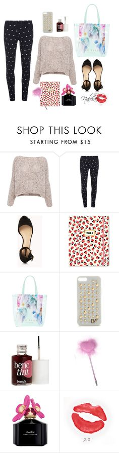 xx by nabilach on Polyvore featuring Pull&Bear, Dorothy Perkins, Forever 21, Ted Baker, Diane Von Furstenberg, Benefit, Marc Jacobs, Kate Spade and xO Design