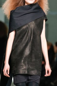 details @ Rick Owens Fall 2013