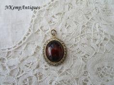 1950's rhinestone pendant by Nkempantiques on Etsy