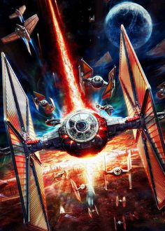 """The Fan Art For """"Star Wars: The Force Awakens"""" Is Staggeringly Beautiful. This is my 2nd favorite, ever"""