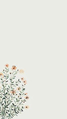 Simple Iphone Wallpaper, Iphone Wallpaper Vsco, Minimalist Wallpaper, Fall Wallpaper, Iphone Background Wallpaper, Flower Wallpaper, Painting Wallpaper, Glitter Wallpaper, Pastel Wallpaper Backgrounds