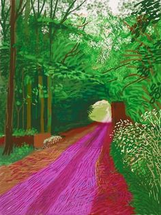 The last 10 years of David Hockney: from oil and canvas to iPad drawings – in pictures David Hockney Ipad, David Hockney Art, David Hockney Paintings, Landscape Art, Landscape Paintings, Pop Art Movement, Ipad Art, Arte Pop, Art Plastique