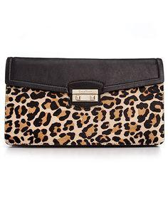 Cole Haan Handbag Leopard clutch - macys