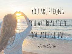 You are enough, beli