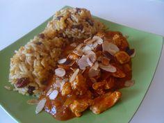 Curry Indien PATAK'S avec TesterTout recette, amande, curry, riz... un délice