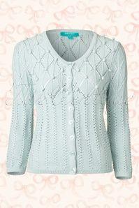Fever Nebraska spearmint Knitted Cardigan