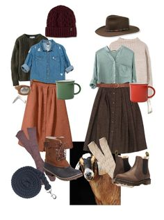 We areHomesteader farm girls by maciestockman on Polyvore featuring polyvore, fashion, style, Sans Souci, MANGO, Uniqlo, Guy Laroche, ASOS, Free People, Hollister Co., SOREL, Dr. Martens, Stetson, Overland Sheepskin Co., Dorothy Perkins, canvas and clothing
