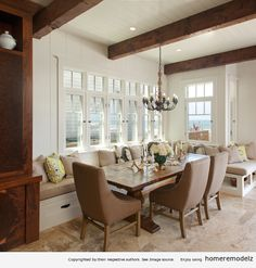 Interior design dining rooms Dining room bench – Home Remodeling Ideas