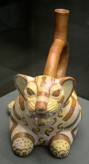 Ceramica de la tumba Señor de Sipán. Cultura Inca. Perú. http://www.southamericaperutours.com/peru/8-days-great-peru-northern-kindong.html