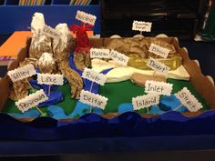 One Of My Students Made An Awesome Edible Landform Project
