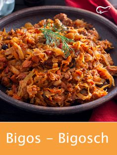 This Polish sauerkraut stew is prepared with meat, sauerkraut and sausage . - This Polish sauerkraut stew is prepared with meat, sauerkraut and sausage. This recipe is highly re - Egg Recipes For Breakfast, Easy Healthy Breakfast, Healthy Family Dinners, Healthy Dinner Recipes, Tapas, Pork Tenderloin Recipes, Asparagus Recipe, Healthy Eating Tips, Cooking