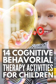 14 cognitive behavioral therapy activities for kids to help little ones recognize their negative thoughts and replace them with positive ones. Autism Activities, Therapy Activities, Activities For Kids, Autism Behavior Management, Anger Management, Autism Education, Autism Classroom, Classroom Resources, Special Education