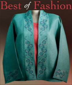 Best of Fashion huge machine embroidery collection of 58 fashionable designs.