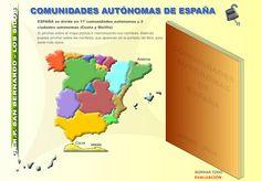 BANCO TIC   Aplicación para estudiar la situación de las Comunidades Autónomas ~ La Eduteca