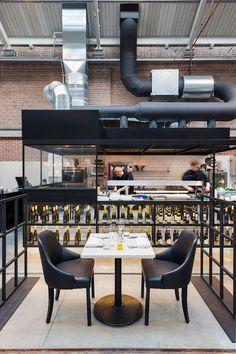 Meat West Restaurant, Amsterdam, Netherlands designed by Framework