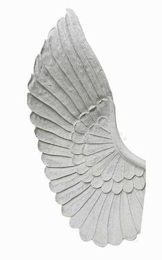 Angel wing isolated on white background royalty free stock image
