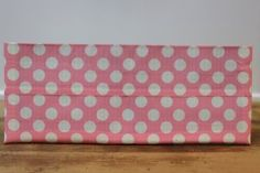 Duct Tape Wallet (Bi-Fold) - Pink Polka Dot, $15.  We are also on Etsy at:  www.junorduck.com/etsy.
