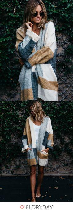 Coats you need.Polyester Long Sleeve Collarless Coats