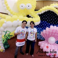 Leia o Artigo de Elba sobre Os balões nunca saem de moda www.revistaartecombaloes.com.br