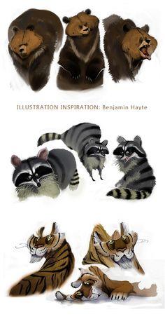 ILLUSTRATION INSPIRATION: Benjamin Haytes