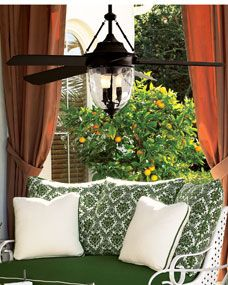 Bronze Outdoor Fan