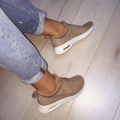 "designer fashion 4a0d1 c619d ""New babies Nike air max Thea premium in Desert camo"" Sko Spel, Nike"