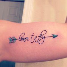 Awesome modern arrow tattoo ideas