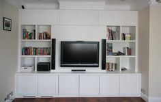 Media TV storage units designed to suit all your entertainment needs. Beautiful and functional bespoke TV units and furniture from our London design studio. Entertainment Center Kitchen, Entertainment Units, Diy Hifi, Tv Media Center, Tv Storage Unit, Ad Home, Home Cinemas, Bespoke Furniture, London