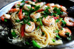 16- Minute Meal: Shrimp Scampi recipe: http://thepioneerwoman.com/cooking/2011/04/16-minute-meal-shrimp-scampi/