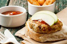 Apple Turkey Burger via @SparkPeople