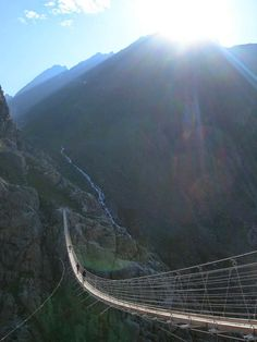 The Trift Bridge: The Longest Pedestrian Suspension Bridge in the Swiss Alps Never in a million years.