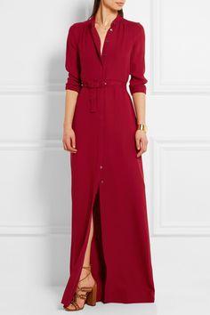 Vanessa Seward   Bahia belted silk-crepe maxi dress   NET-A-PORTER.COM
