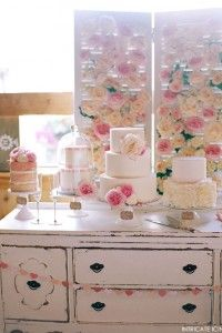 Rose Cake Display | by Intricate Icings