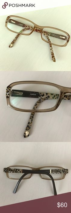 Bebe glasses frames Brown cheetah Bebe glasses frames. They are fitted to my face. You can bring them to your local ophthalmologist and get them fitted to your face with new lenses! Make me an offer or bundle to save on shipping! bebe Accessories Glasses