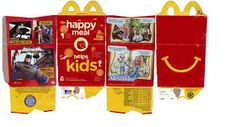 American Girl Happy Meal and Chicken Nugget Box - free printable
