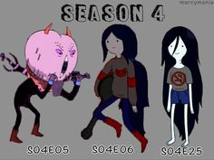 Marceline Outfits, Marceline And Bubblegum, Sun And Stars, Guy Fieri, Character Description, Season 4, Sailor Moon, Adventure Time, Literature