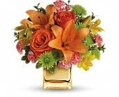 The perfect #SummerFlower bouquet!  Teleflora's Tropical Punch Flower Bouquet - Teleflora.com