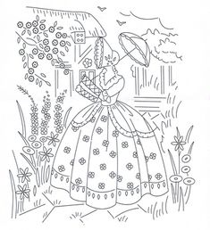 Hand Embroidery Patterns Free, Basic Embroidery Stitches, Embroidery Transfers, Vintage Embroidery, Cross Stitch Embroidery, Machine Embroidery, Vintage Floral Wallpapers, Applique Quilts, Needlework