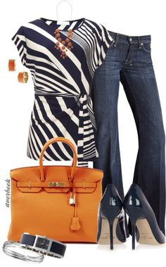 """Trouser Jeans"" by averbeek on Polyvore"