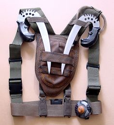 Riddick Crematoria backpack and stunt knives by Matt & Kristy, via Flickr