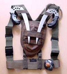 Riddick Crematoria backpack and stunt knives by Matt & Kristy, via Flickr