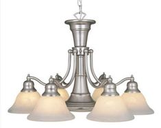 Patriot Lighting® Standford 7-Light Brushed Nickel Chandelier
