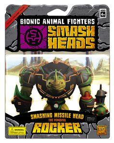"""Smash Heads toybox """"Rocker"""""""