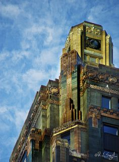 Carbon & Carbide Building, Morning Sun   Flickr - Photo Sharing!  Had our office here before The Hardrock.