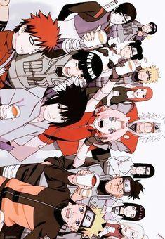 Naruto Uzumaki Shippuden, Naruto Kakashi, Anime Naruto, Naruto Shippuden Characters, Naruto Teams, Wallpaper Naruto Shippuden, Naruto Cute, Gaara, Boruto